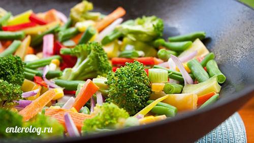 вегетарианское питание для восстановления печени