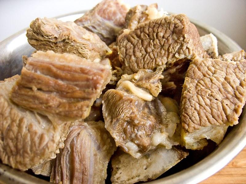 Мясо приготовленное на пару