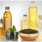 Оливковое и подсолнечное масло