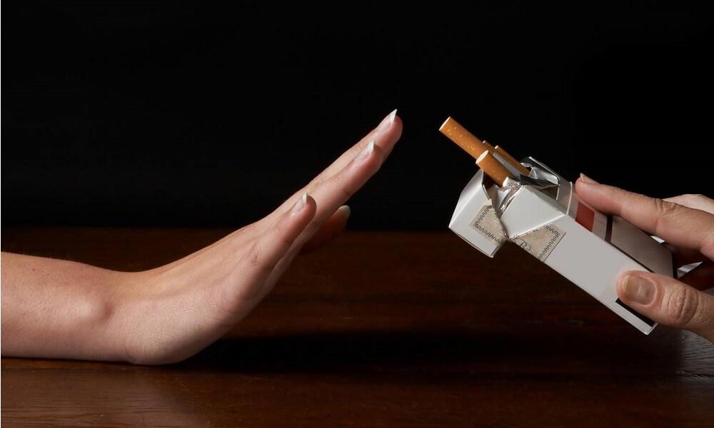 Противопоказано курение