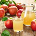 Кисель и яблоки