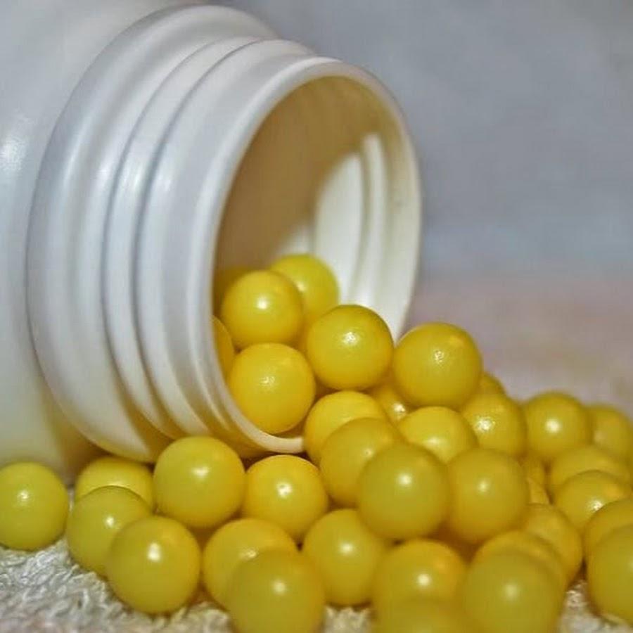 Жёлтые витамины