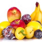 Сладкие и спелые фрукты